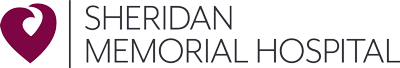 Sheridan Memorial Hospital Logo - Click to go back to Home Page