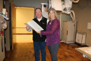 Sheridan Memorial Hospital Growing For You MRI Donation