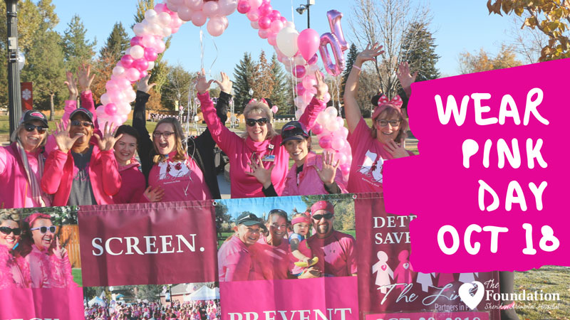 Sheridan Memorial Hospital Wear Pink Day