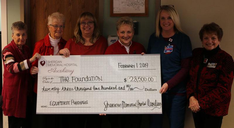 Sheridan Memorial Hospital Donations