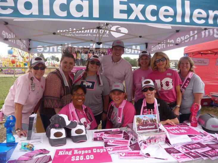 Sheridan Memorial Hospital pink night