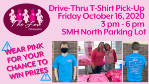 T-shirt Pick-up - The Link-Partners in Pink @ Sheridan Memorial Hospital north parking lot