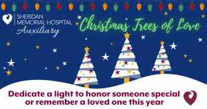 Trees of Love  - Drive Thru Tree Lighting @ Sheridan Memorial Hospital