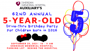 Annual 5 Year Old Birthday Party @ Sheridan Memorial Hospital North Parking Lot
