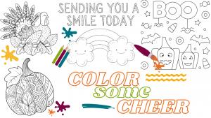 Color Some Cheer! @ Sheridan Memorial Hospital